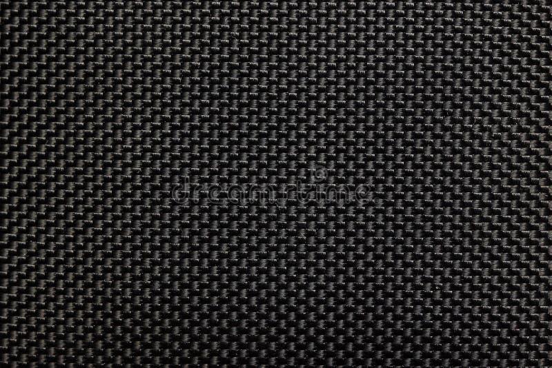 黑橡胶织品纹理 免版税库存图片