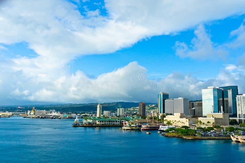 檀香山,夏威夷,美国 免版税图库摄影