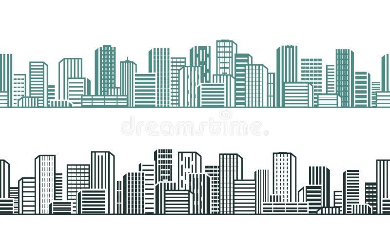 1次鸟飞行s 都市风景,都市,高层,修造的概念 也corel凹道例证向量 皇族释放例证