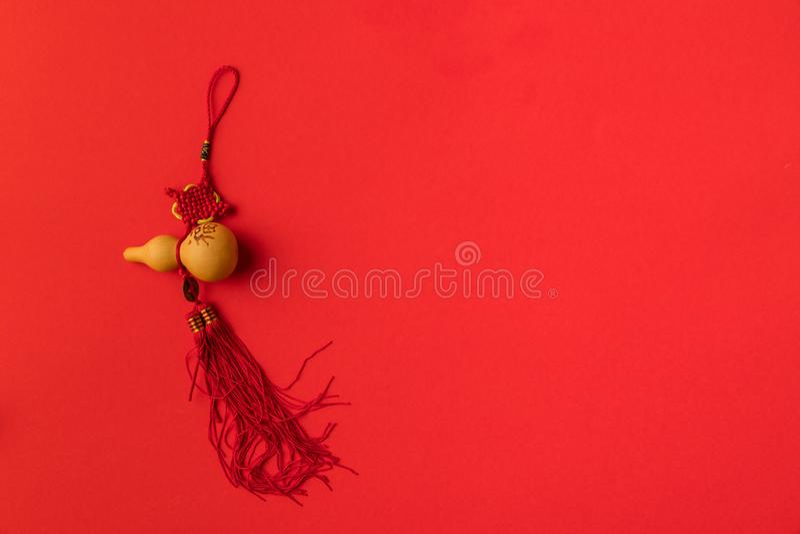 欢乐中国装饰顶视图  库存照片