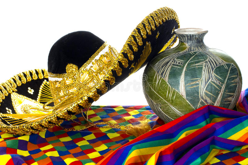 欢乐的帽子墨西哥 库存图片