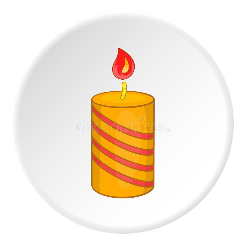 欢乐蜡烛象,动画片样式 皇族释放例证