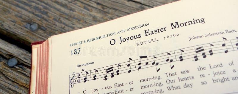 欢悦复活节基督升起的喜悦 免版税图库摄影