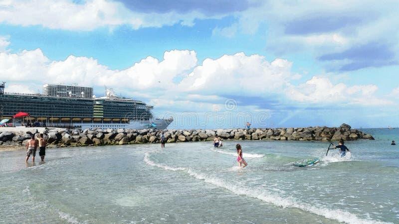 欢迎光临南佛罗里达 库存图片