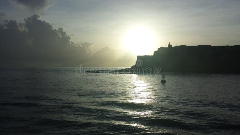 欢迎光临波多黎各 免版税库存照片