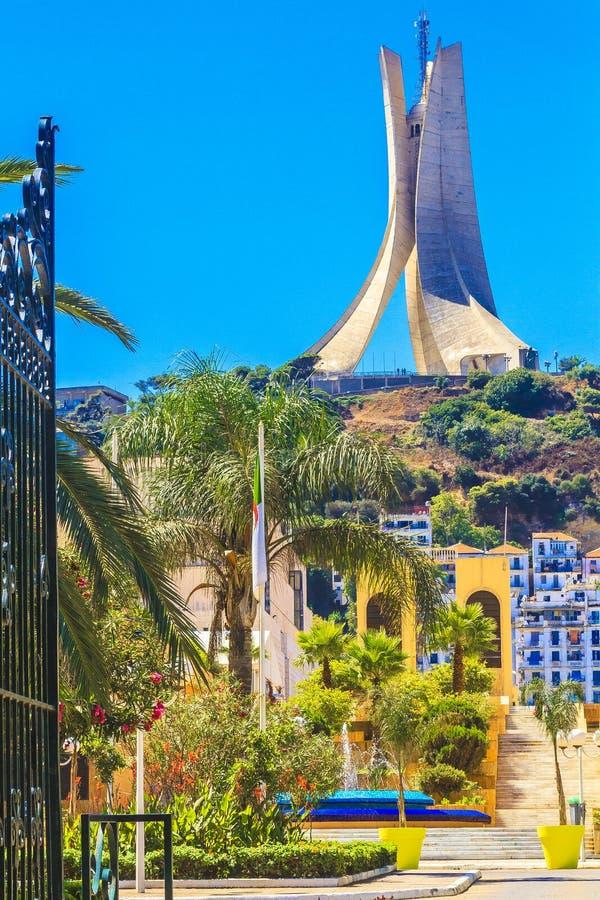 欢迎光临阿尔及利亚 免版税库存图片