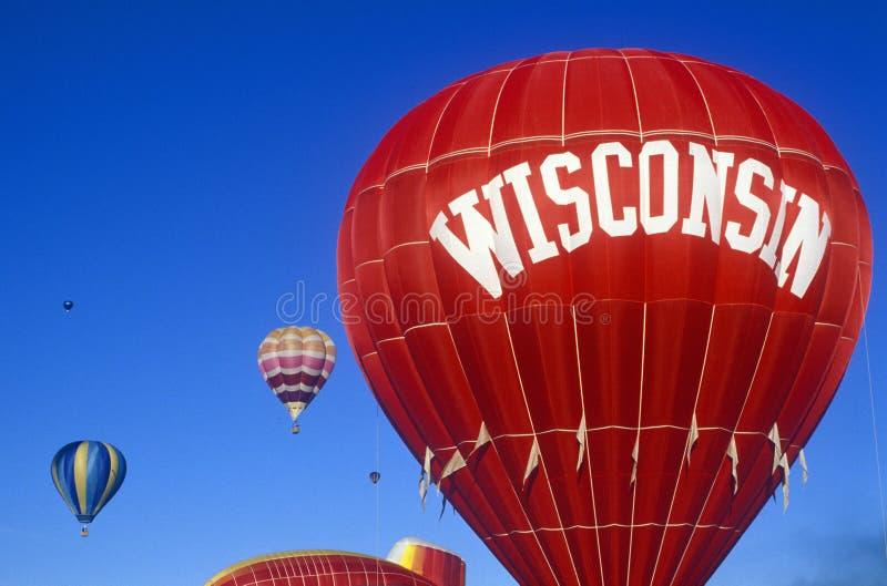 欢迎到威斯康辛符号 免版税库存照片