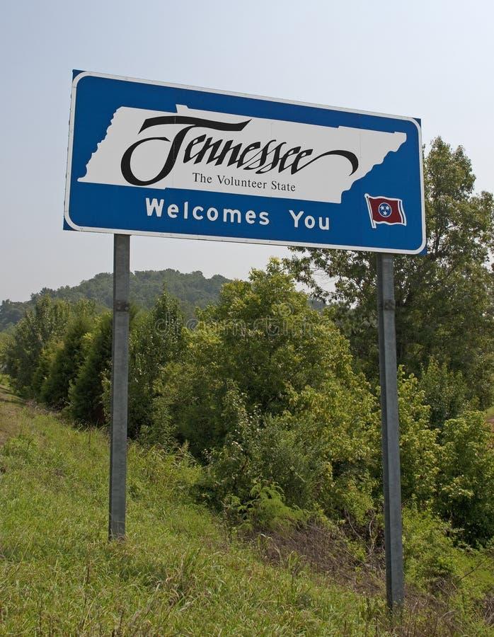 欢迎的田纳西 库存照片