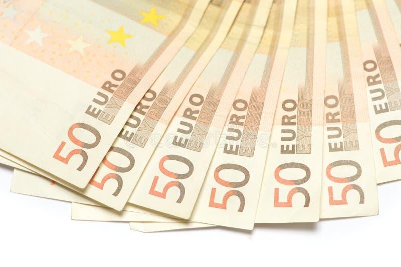 欧元五十 免版税库存图片