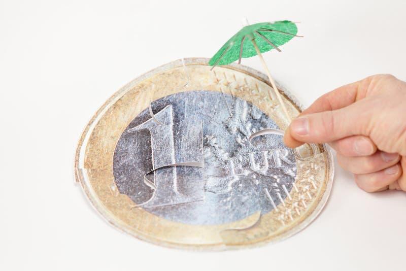 欧元保存 免版税库存图片