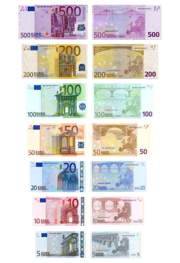 欧元货币 免版税库存照片