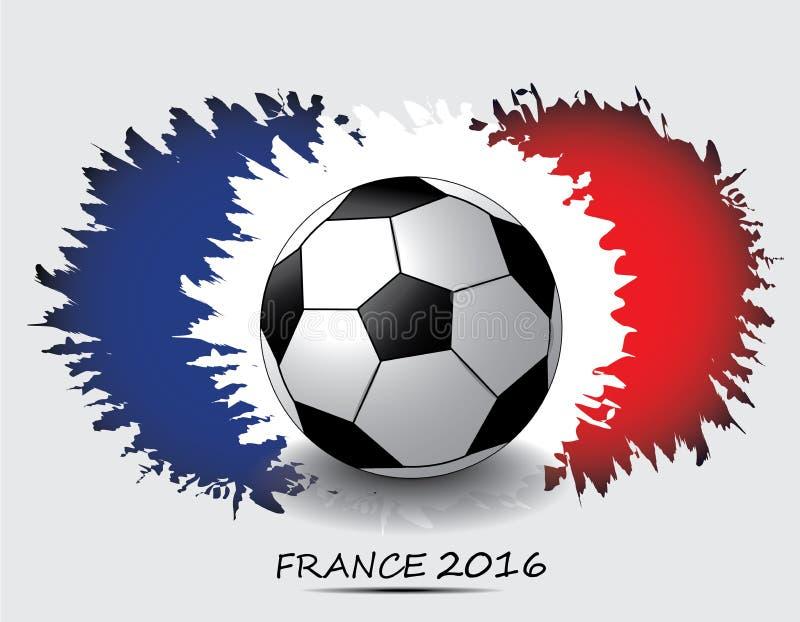 欧元2016年法国橄榄球冠军 免版税图库摄影