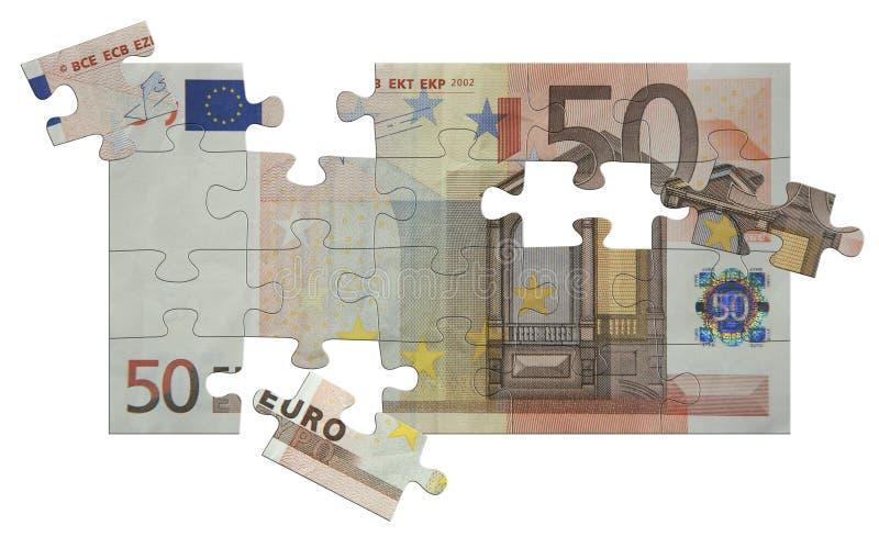 50欧元 库存照片