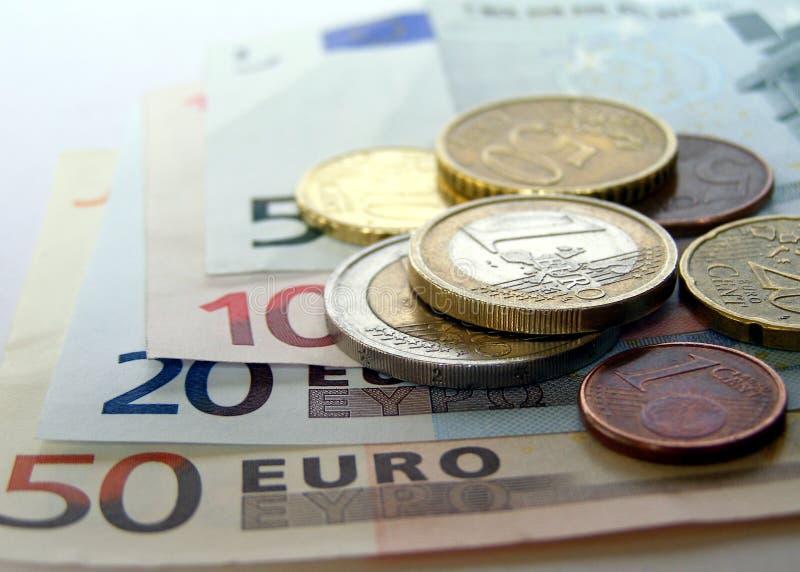 欧元 免版税图库摄影