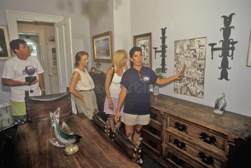欧内斯特・海明威家和博物馆,基韦斯特岛,佛罗里达 库存图片