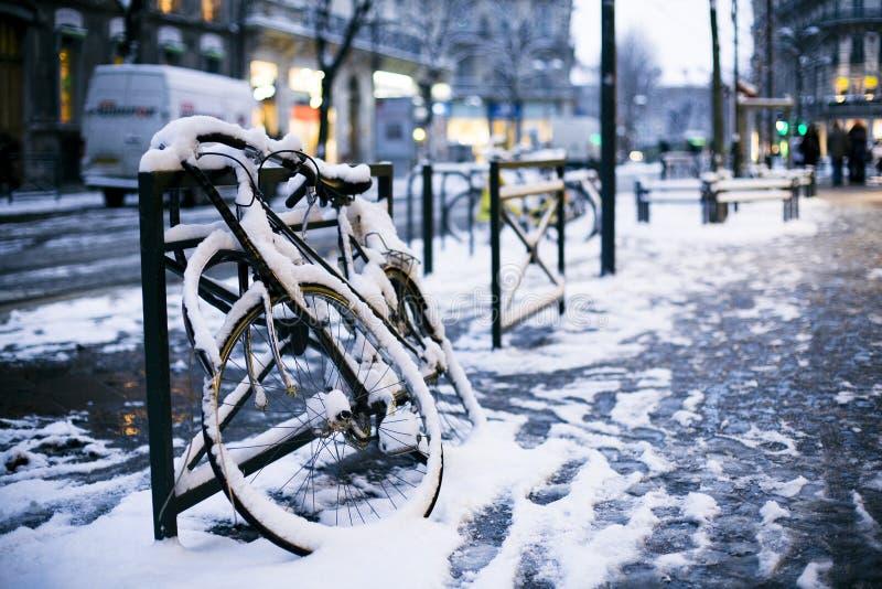 欧洲冬天 免版税库存图片