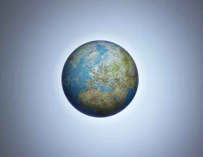 欧洲地球 免版税库存图片