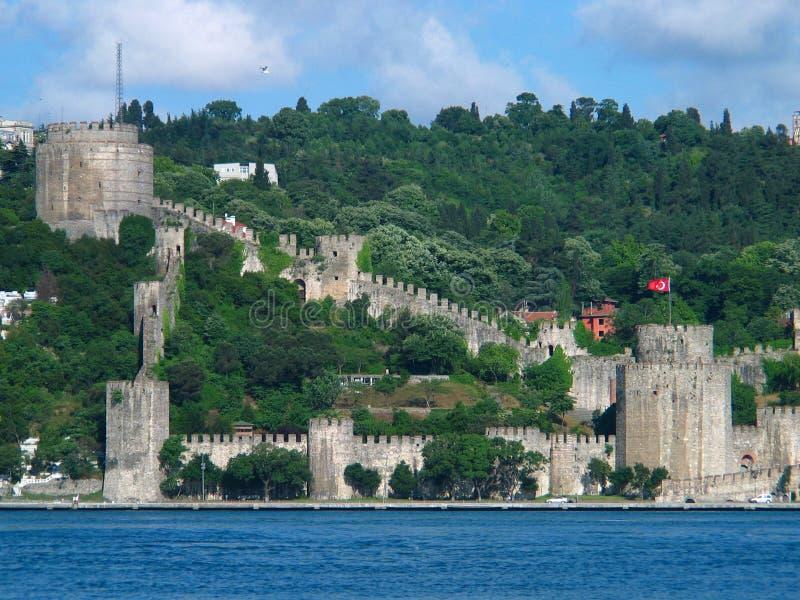 欧洲堡垒 库存照片