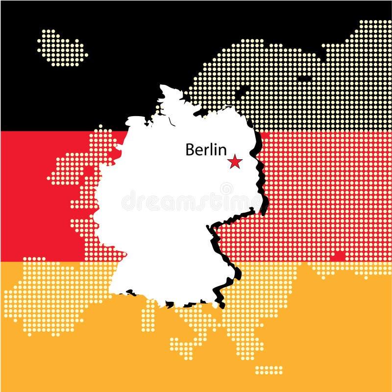 欧洲德国 库存例证