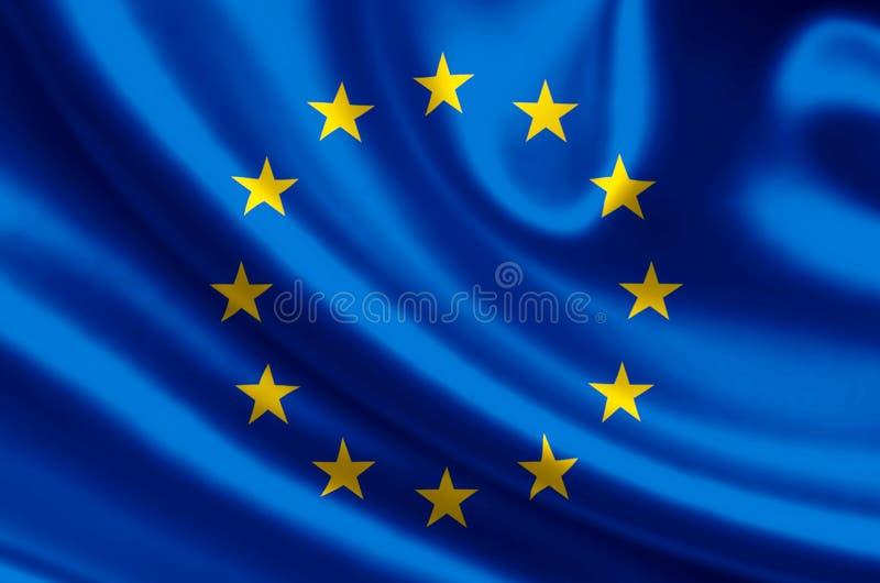欧洲旗子例证 向量例证