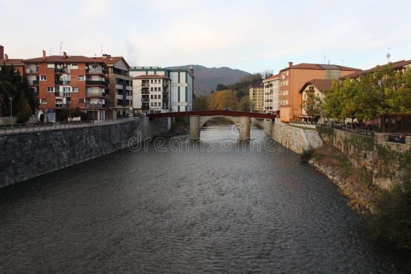 欧洲河新鲜和冷水  图库摄影