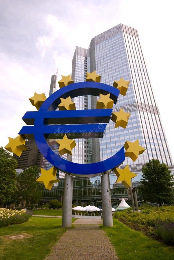 欧洲法兰克福符号 免版税图库摄影