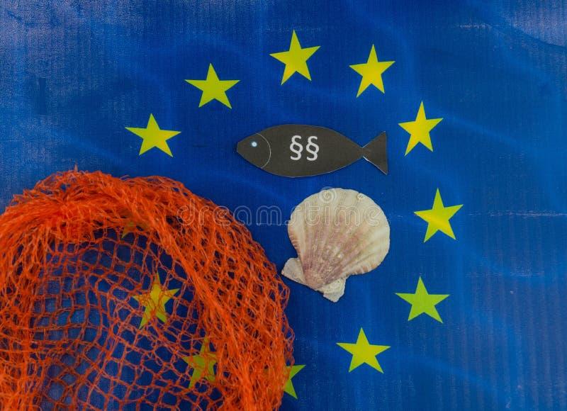 欧洲渔法律 库存图片