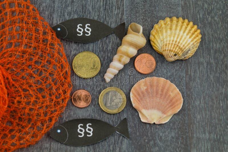 欧洲渔法律 免版税库存图片