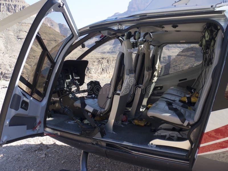 欧洲直升机公司EC130直升机 图库摄影