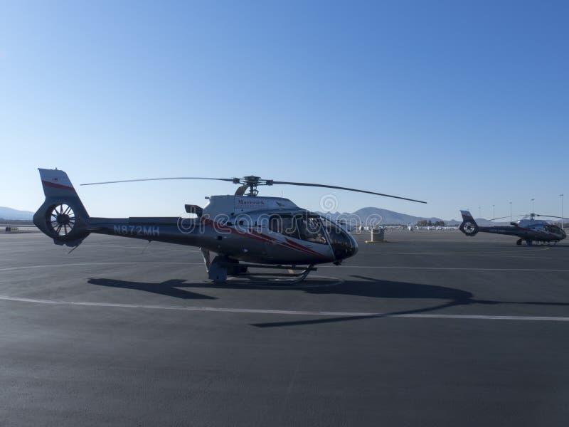 欧洲直升机公司EC130直升机 库存图片