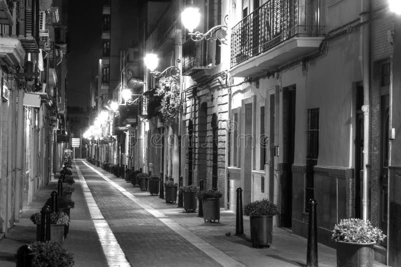 欧洲缩小的街道 免版税库存图片