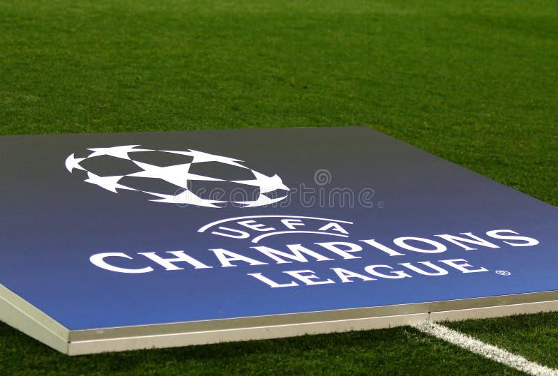 欧洲联赛冠军杯:Shakhtar顿涅茨克v费耶诺德队 免版税图库摄影