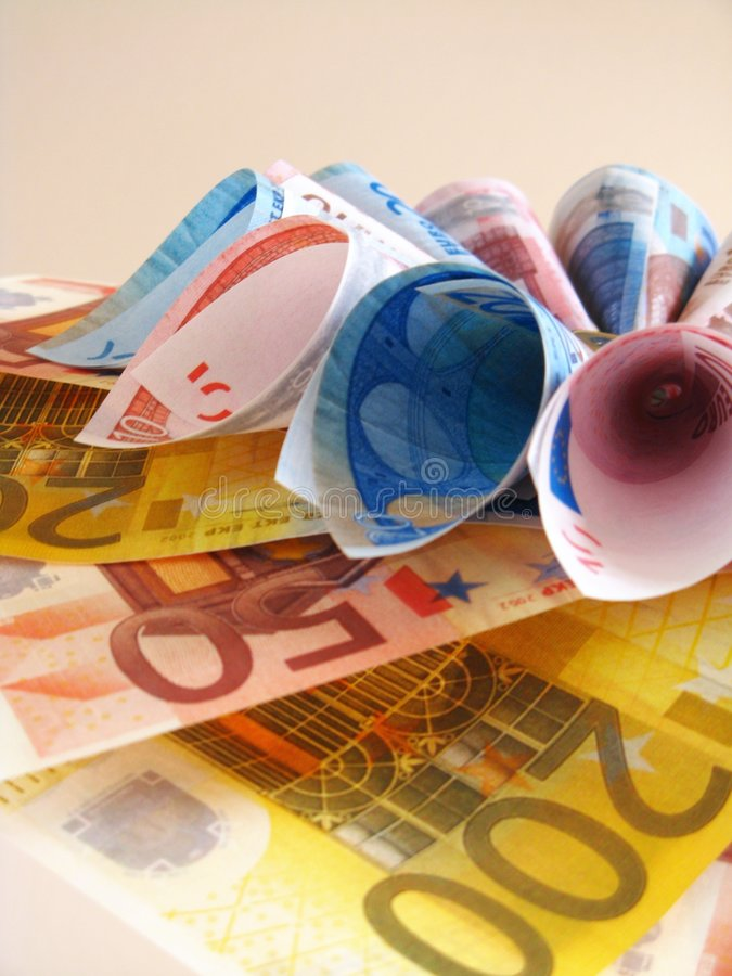 欧洲花附注 免版税库存照片
