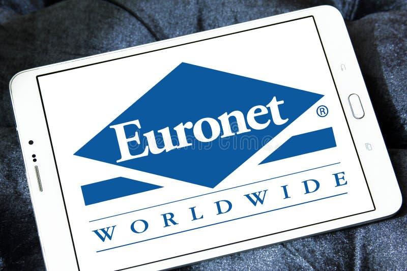 欧洲计算机网全世界金融服务公司商标 免版税图库摄影