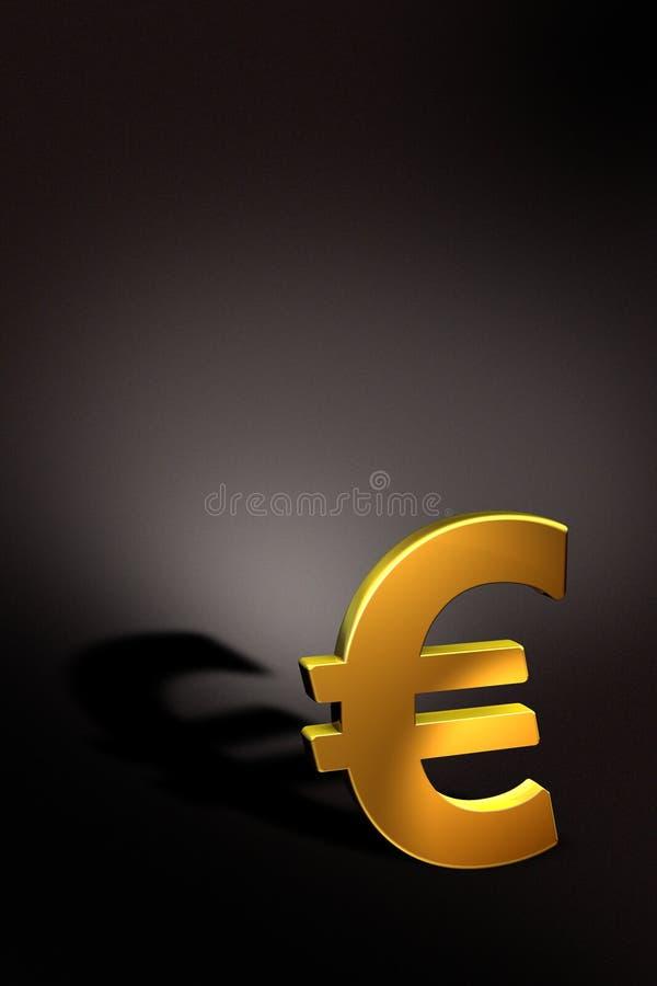 欧洲金黄 库存例证