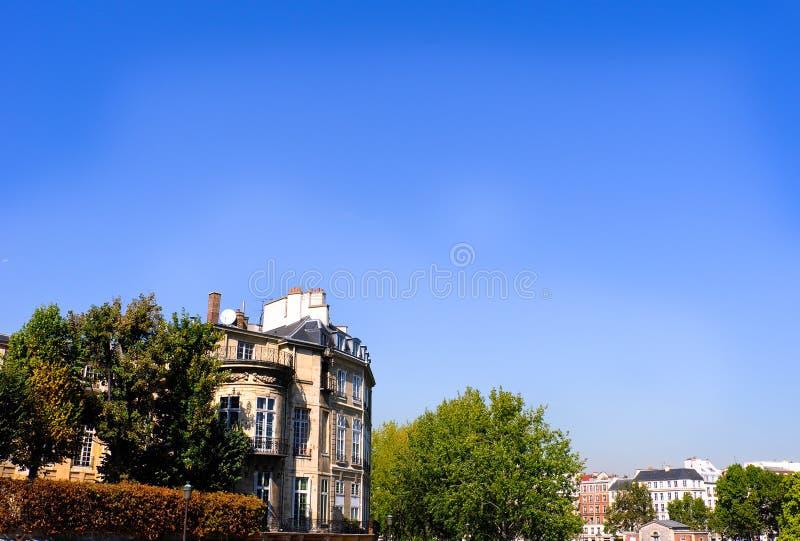 欧洲iew巴黎 库存照片