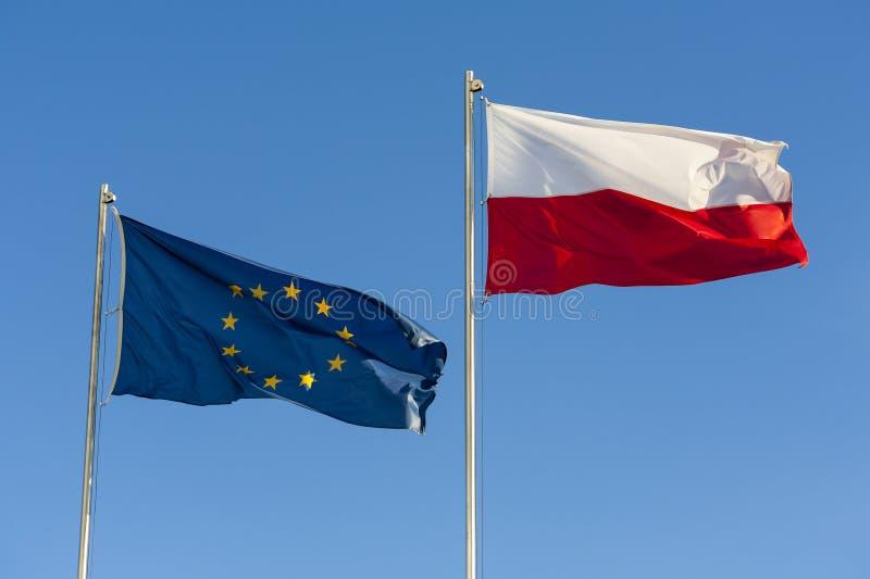 欧盟下垂。 免版税库存图片