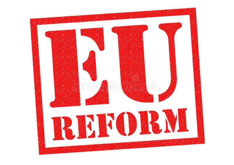 欧盟改革 库存例证