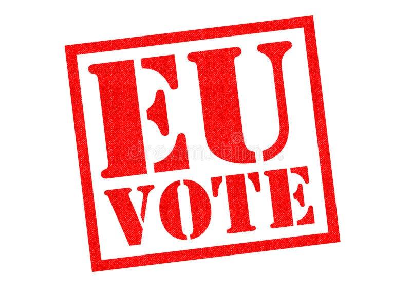 欧盟表决 免版税库存图片