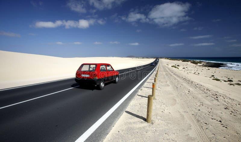 欧洲加那利群岛费埃特文图拉岛 库存照片