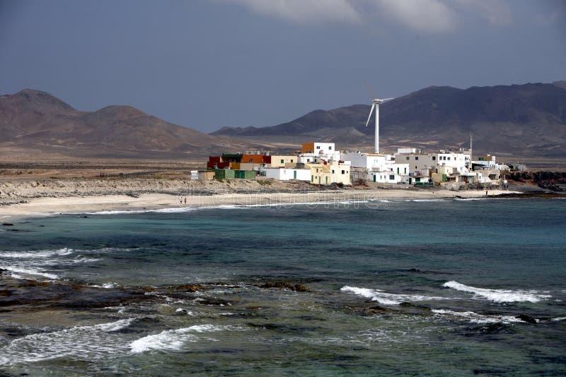 欧洲加那利群岛费埃特文图拉岛 免版税图库摄影