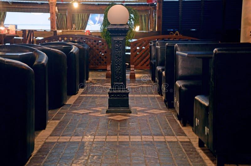 欧洲咖啡馆 库存照片