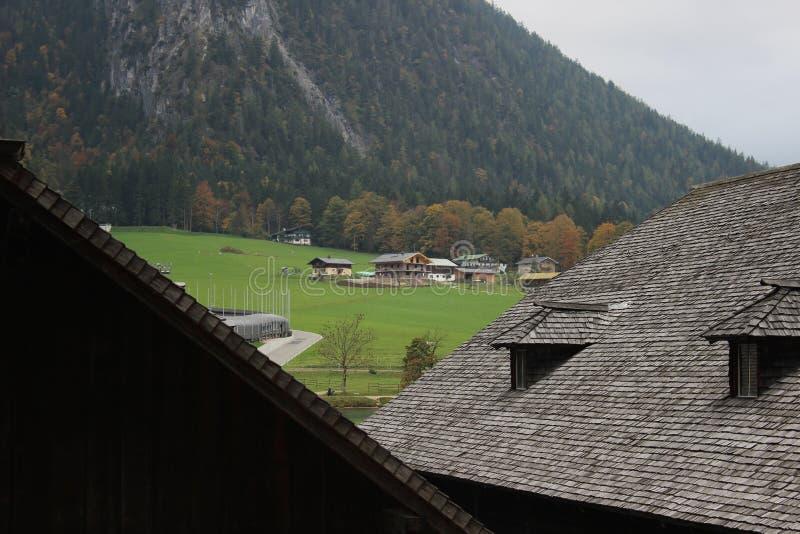 欧洲村庄 图库摄影