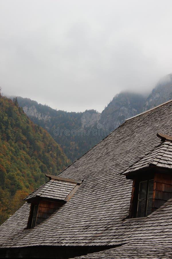 欧洲村庄 库存图片