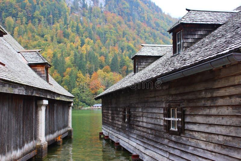 欧洲村庄 库存照片