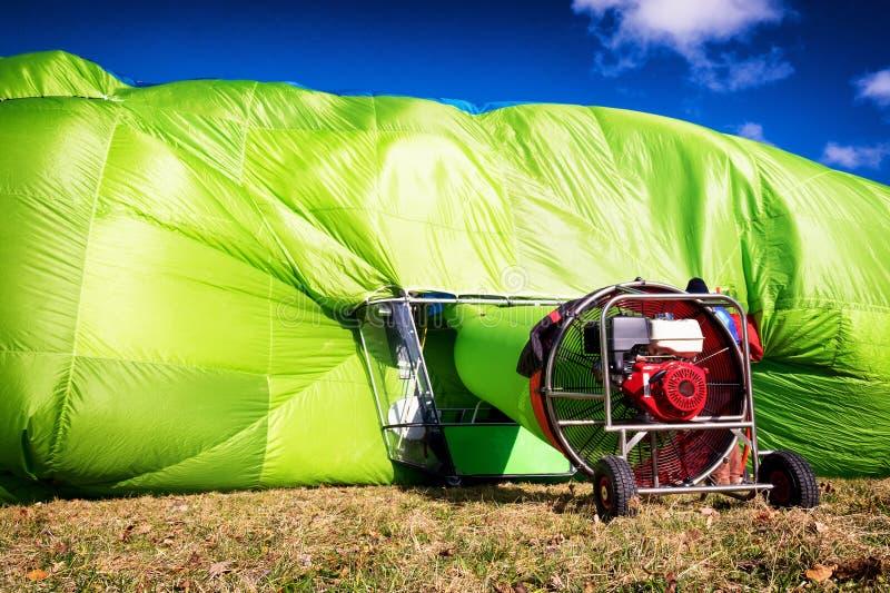 欧洲热空气飞艇冠军2016年tegernsee -德国 免版税库存图片