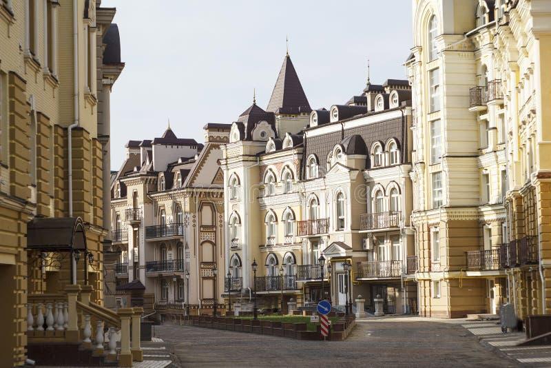 欧洲建筑学的图片 免版税图库摄影