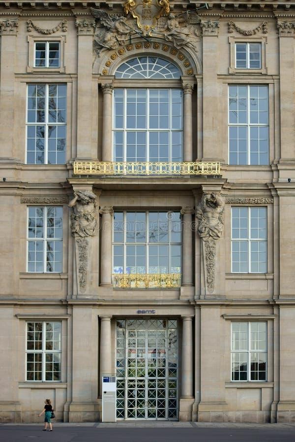 欧洲管理学校和技术 免版税图库摄影