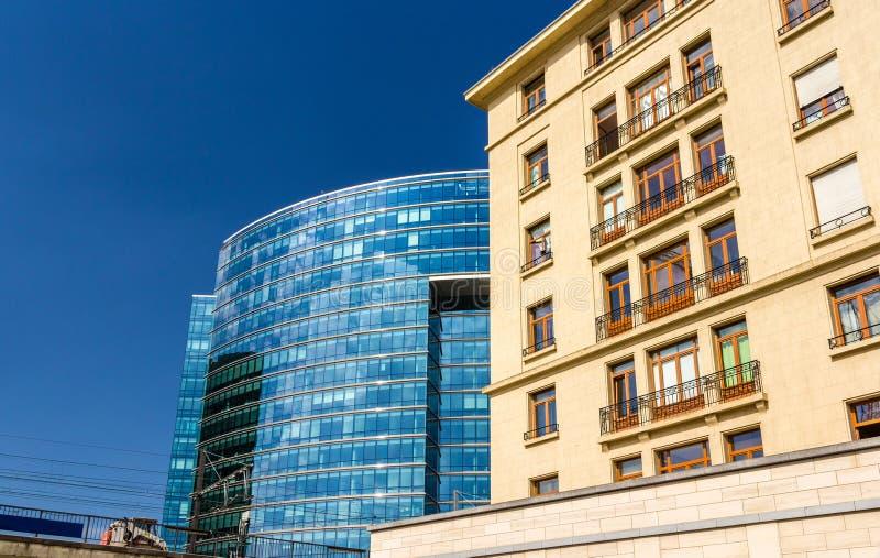 欧洲联盟部长理事会的Lex大厦 免版税图库摄影