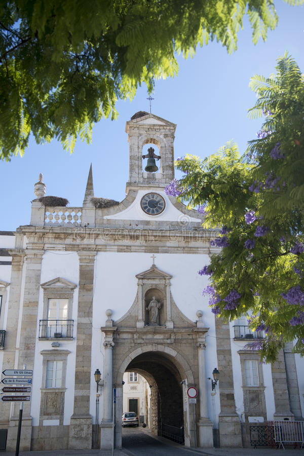 欧洲葡萄牙阿尔加威法鲁ARCO DA维拉 库存照片